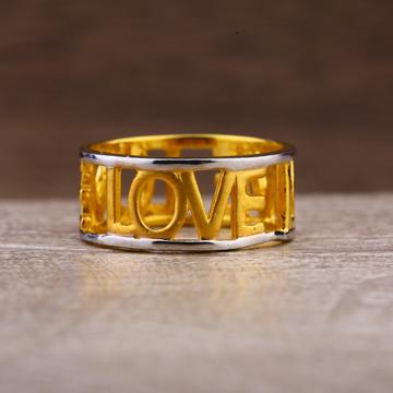 22Kt Gold Women's Fancy Plain Ring LPR249