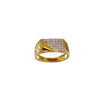 22K Gold Fancy Gents Ring MGA - GRG0254