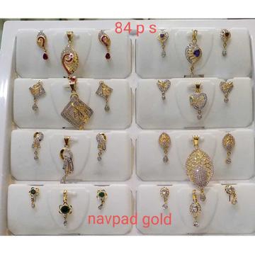 20KT Gold Designer Pendants Set