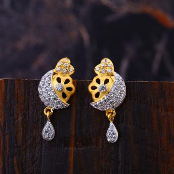 22KT Diamond Fancy  Hallmark Earring LFE328