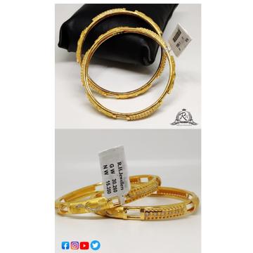 22 carat gold antique bangles RH-LB570