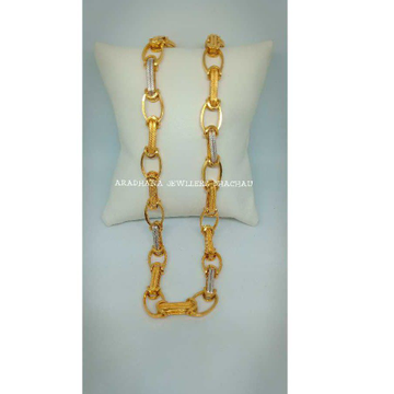 22KT Fancy handmade Gents Chain