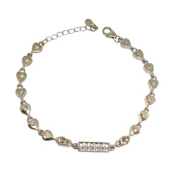 925 Sterling Silver Fancy Bracelet MGA - BRS1767