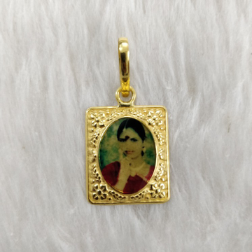 Antique Photo mina pendant