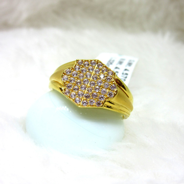 Gold Classic Casting Gents Ring