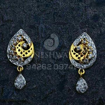 18kt Exclusive Cz Gold fancy Ladies Tops ATG -0290