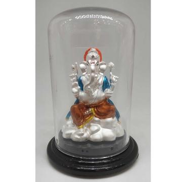 999 pure silver ganesh idols by