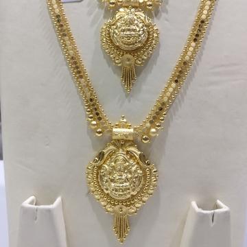 22kt Gold Handmade Haram set