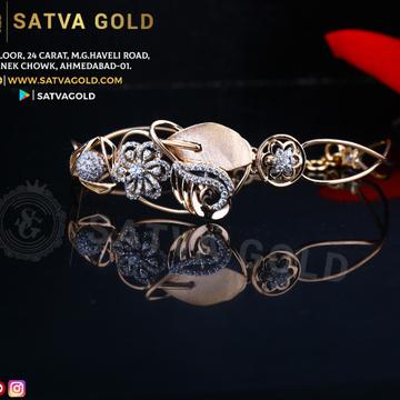 76 ROSE GOLD KADA SGK-0013