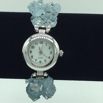 Aquamarine Chips 2 Layers Designer Watch JBG0254