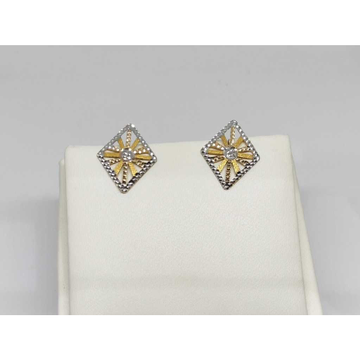 Gold Ad earrings by