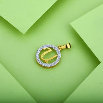 U Letter Gold Pendant-LP10