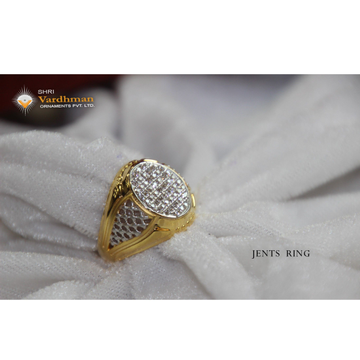Cz gold exclusive ring