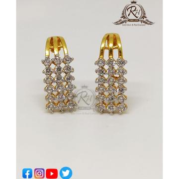 22 carat gold daimond butti RH-ER74