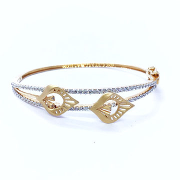 DESIGNING FANCY ROSE GOLD KADA BRACELET