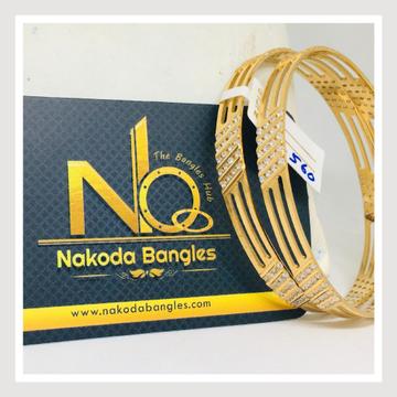 916 Gold CNC Bangles NB - 720
