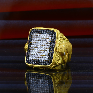 Mens Horse Gold 916 Exclusive Ring-MHR34