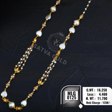 916 gold mala MLG-0125