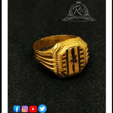 22 carat gold latest kids rings RH-KR090