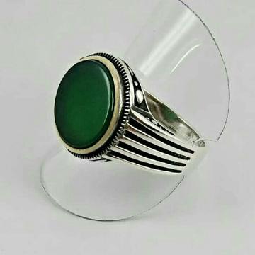 925 Silver Designer Gents Ring