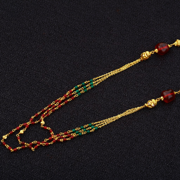 916 Gold Hallmark Mala AC152