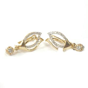 18k gold earrings mga - gb001