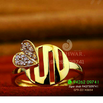 22kt Exclusive Fancy Cz Ladies Ring LRG -0286