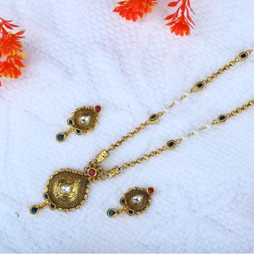 22KT Gold Antique Dokiya JAC - N8386