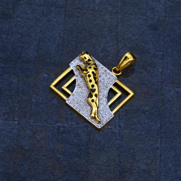 Mens Jaguar 916 Gold Pendant-MHP11