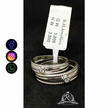 92.5 Silver Couple Rings RH-CR755