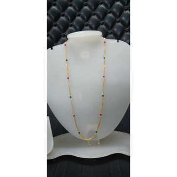 916 Gold Lightweight Colorful Mala