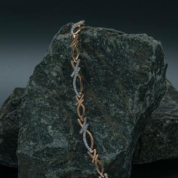 18kt Rose gold bracelet by