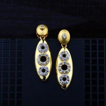 916 Gold CZ Earring RH-ER079