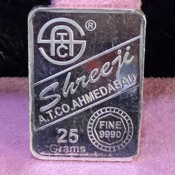 999 Silver Twenty Five Gram Silver Lagdi