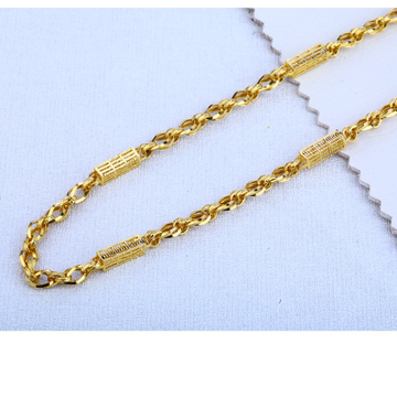 916 gold Sylish Choco Chain MCH129