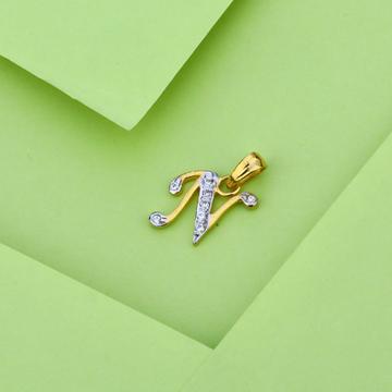 916 Gold Fancy Stylish Pendant LP15