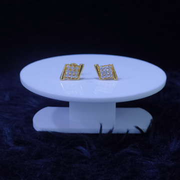 22KT/916 Yellow Gold Moini Earrings For Women