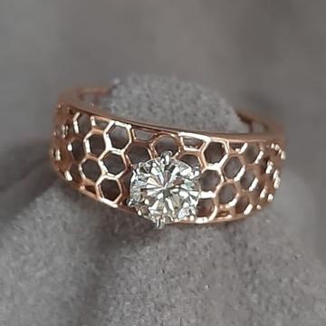 18KT Rose Gold Antique Ring For Women SDJ-0202 by Shri Datta Jewel