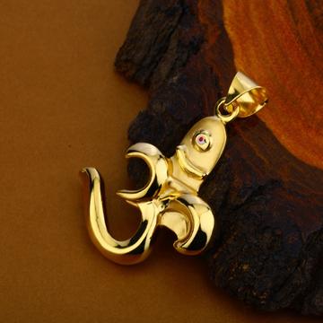 Om Shivling Gold Pendant-HLP108
