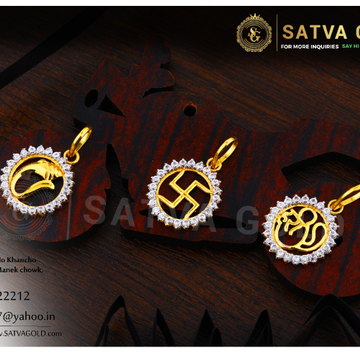 916 gold pendants SGP-0008