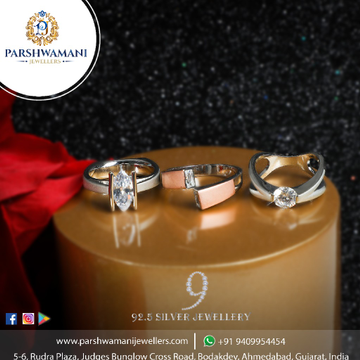 92.5 Sterling Silver white Cubic Zirconia Square Rose Tone Sigle Solitaire Ring for Women