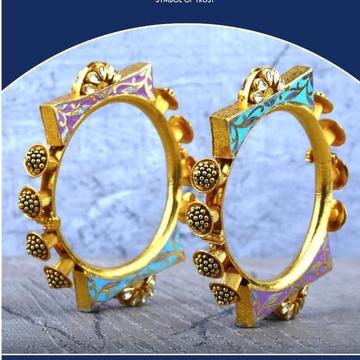 22Kt Gold Marvadi Rajastani  Patala RH-GB24