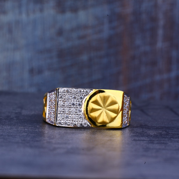Mens 22K Gold Ring-MR435