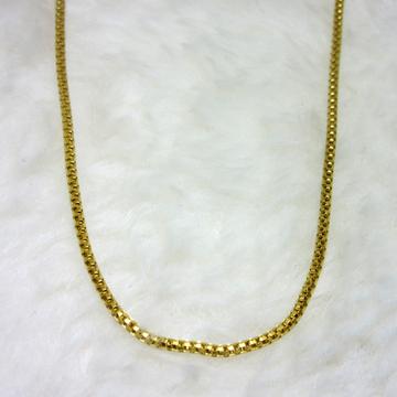 Gold Box Round Chain