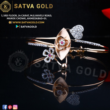 76 ROSE GOLD KADA SGK-0008