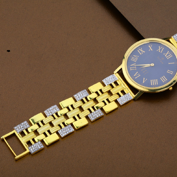 Mens 22K Casting Gold Watch-MW02