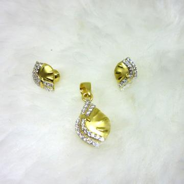 Gold 22k HM916  Pendent Set