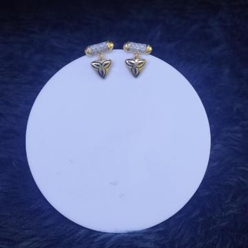 22KT/916 Yellow Gold Stargazing Earrings For Women