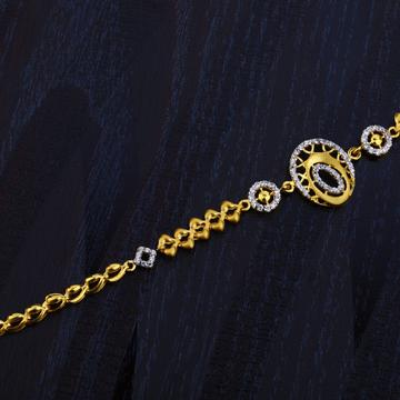 Ladies Gold Bracelet-LB84