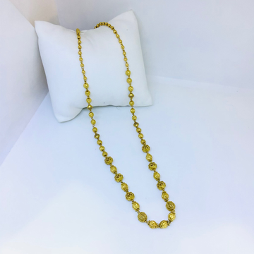 BRANDED ANTIQUE GOLD MALA FOR LADIES by